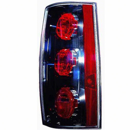 07-14 GMC Yukon XL 1500 Right Passenger Side Tail Light Clear Outer Lens For Denali