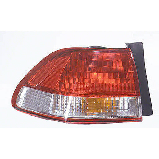 01-02 Honda Accord Left Driver Side Outer Tail Light