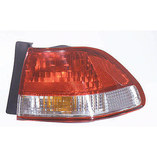 01-02 Honda Accord Right Passenger Side Outer Tail Light