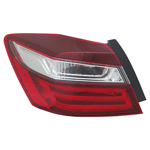 16-17 Honda Accord Sedan Models Left Driver Side Outer Tail Light NSF Certified