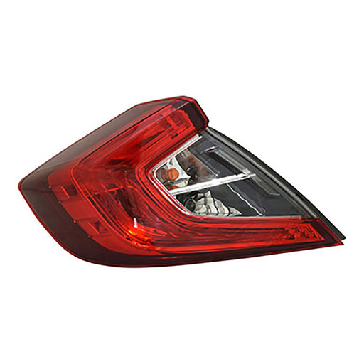 16-18 Honda Civic Sedan Left Driver Side Outer Tail Light NSF Certified