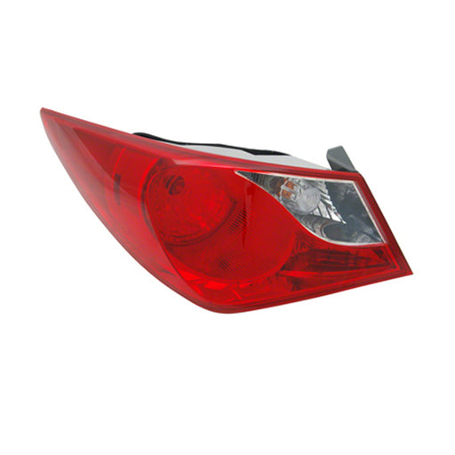 11-14 Hyundai Sonata Left Driver Side Outer Tail Light