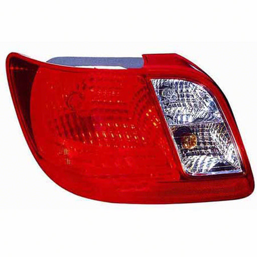 Kia Rio Spectra Left Driver Side Tail Light For Sedan Models