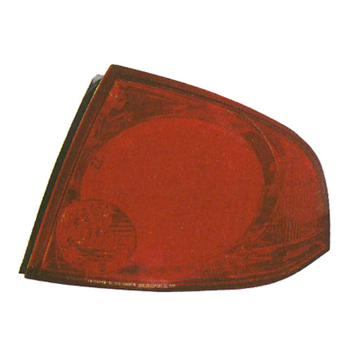 04-06 Nissan Sentra Left Driver Side Outer Tail Light For Base And S Models