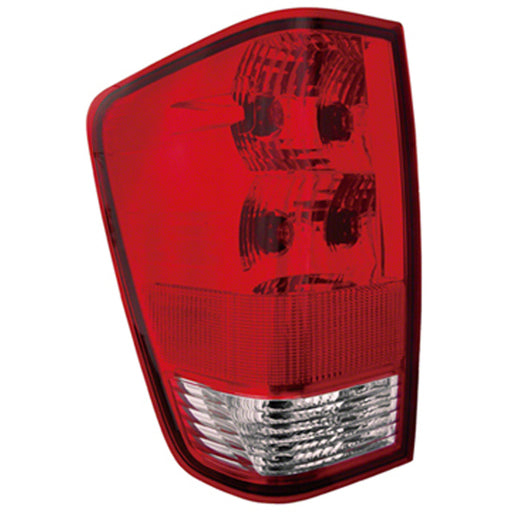 04-15 Nissan Titan With Utility Bed Left Driver Side Tail Light With Utility Bed