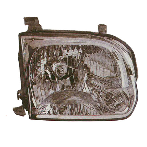 Toyota Sequoia Tundra Double Cab Left Driver Side Headlight