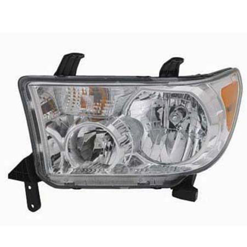 2007-2013 Toyota Tundra/ 2008-2016 Sequoia (w/o Auto Level) Left Driver Side Front Headlight Assembly