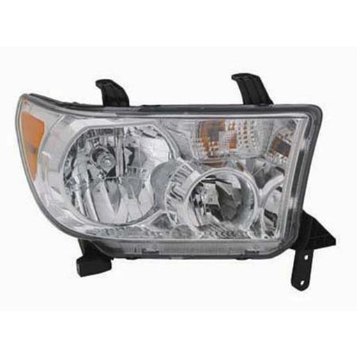 2007-2013 Toyota Tundra/ 2008-2016 Sequoia (w/o Auto Level) Passenger Right Side Front Headlight Assembly