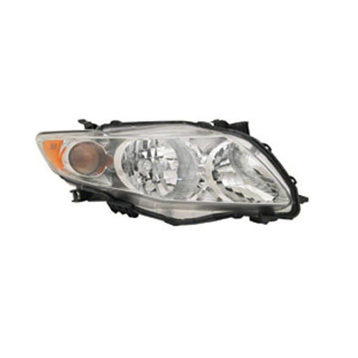 2009-2010 Toyota Corolla Right Passenger Side Headlight