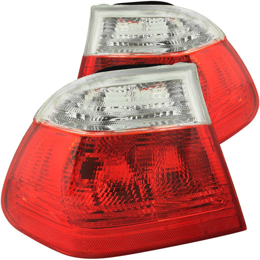 Tail Light Compatible with BMW 320i 323i 325i 325xi 328i 330i 1999-2001 Includes Left Driver and Right Passenger Side Tail Lights