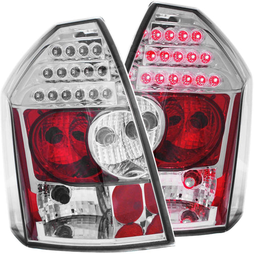 LED Tail Light Compatible with Chrysler 300 2005-2007 Includes Left Driver and Right Passenger Side Tail Lights