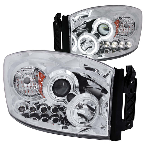 2006-2008 Dodge Ram 1500 2500 3500 Headlight Left Driver & Right Passenger Side
