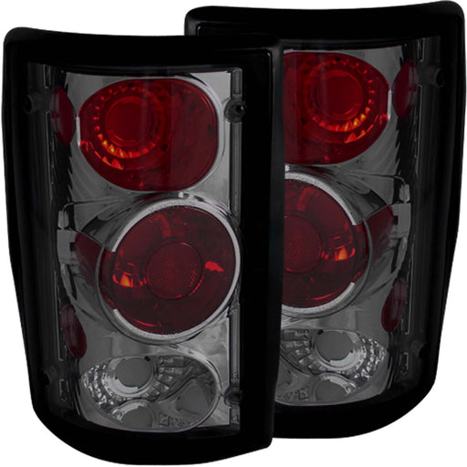 Tail Light Compatible with Ford All E-150 E-250 E-250 Econoline E-350 Excursion 1995-2006 Includes Left Driver and Right Passenger Side Tail Lights