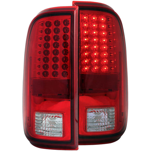 LED Tail Light Compatible with Ford F-250 F-250 Super Duty F-350 Super Duty F-450 Super Duty F-550 Super Duty 2008-2015 Includes Left Driver and Right Passenger Side Tail Lights