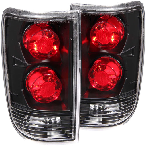 Tail Light Compatible with Chevrolet GMC Oldsmobile Bravada Envoy Jimmy S-10 Blazer S-15 Jimmy 1995-2004 Includes Left Driver and Right Passenger Side Tail Lights