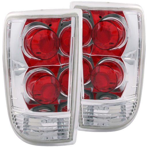 Tail Light Compatible with Chevrolet GMC Oldsmobile Blazer Bravada Envoy Jimmy S-10 Blazer S-15 Jimmy 1995-2005 Includes Left Driver and Right Passenger Side Tail Lights