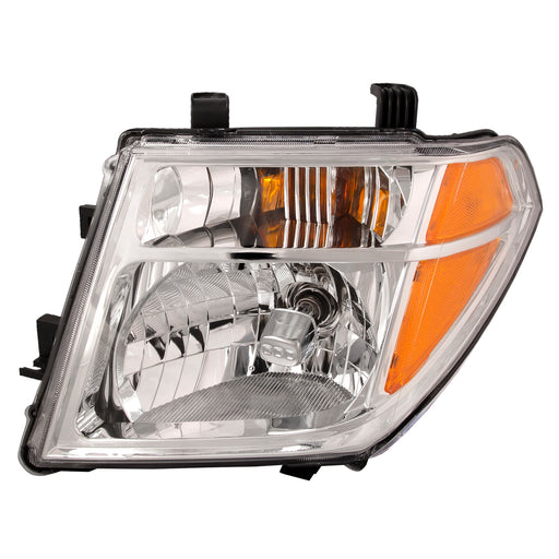 Headlight CAPA Left Driver Assembly Fits 2005-2008 Nissan Frontier/2005-2007 Nissan Pathfinder