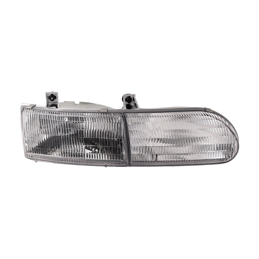 Headlight Halogen Passenger Right Fits 1992-1995 Ford Taurus/ 1994-1995 Taurus Gl
