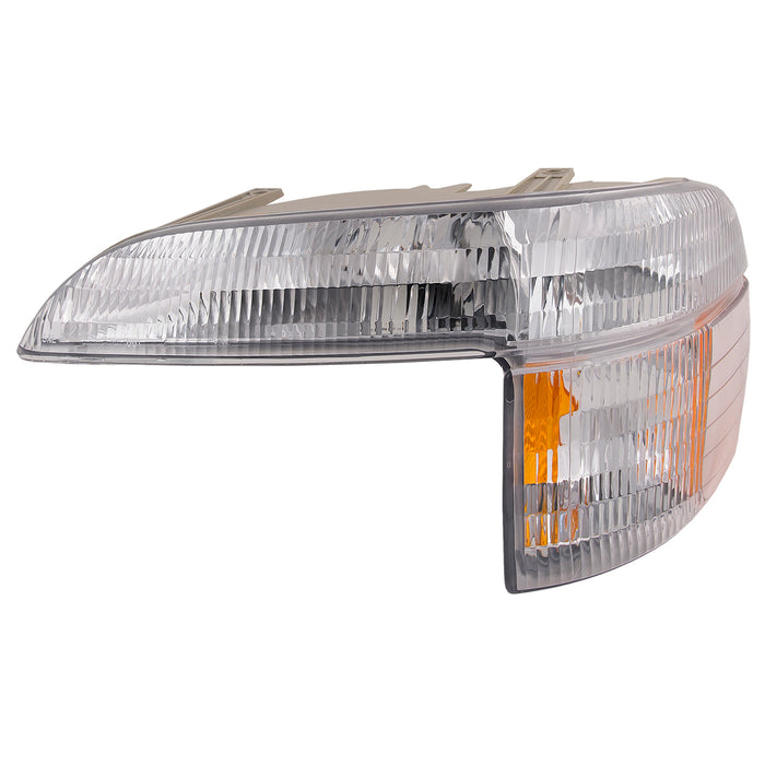 Park Signal Light Left Driver Assembly Fits 1995-2001 Ford Explorer/2001Explorer Sport Trac/1997 Mercury Mountaineer