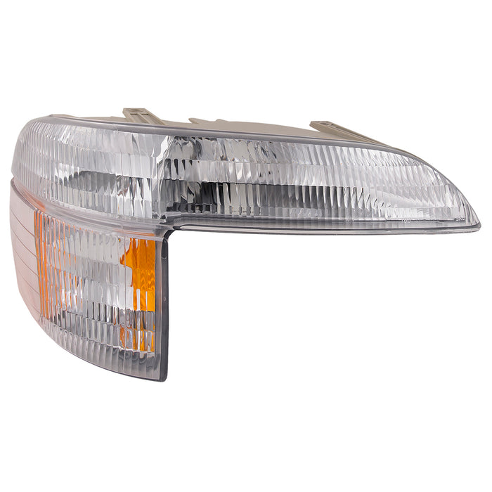 Park Signal Light Passenger Right Assembly Fits 1995-2001 Ford Explorer/2001 Sport Trac/1997 Mercury Mountaineer