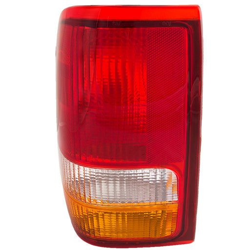 Tail Light Left Driver Side Assembly Fits 1993-1997 Ford Ranger