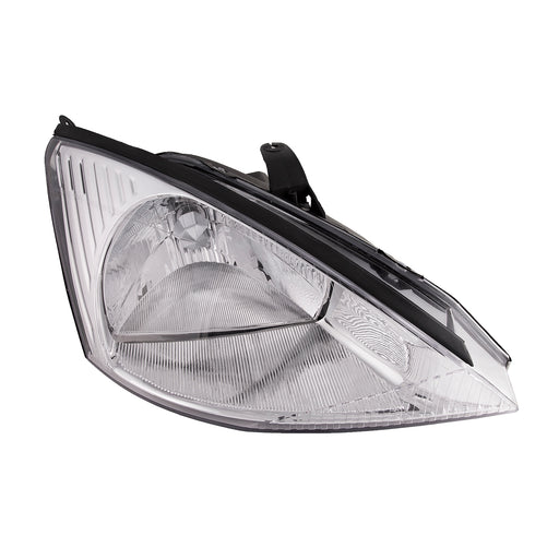 Headlight Halogen Type Right Passenger Side Fits 2000-2004 Ford Focus (w/o SVT Package)
