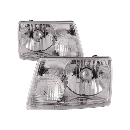 2001-2011 Ford Ranger New Headlights Set Headlamp Pair Halogen Assembly