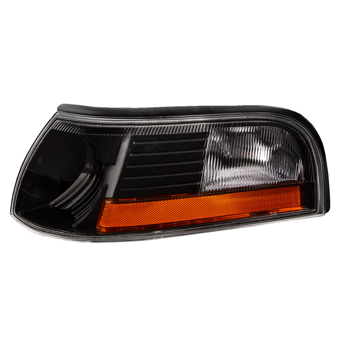 Park Signal Lamp Black Housing Driver Left Fits 2003-2006 Mercury Marauder