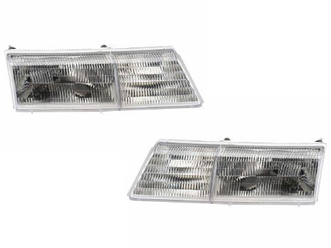 1991-1995 Mercury Cougar New Headlights Set