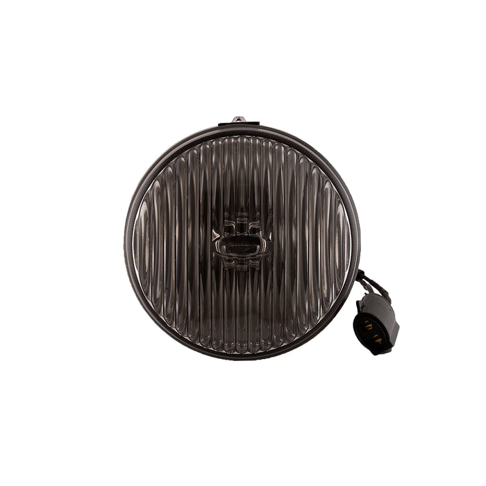 1987-1993 Ford Mustang Front Fog Light 87-93 Stock/Smoke Complete Assembly LH=RH Housing with Lens & Bulb