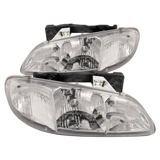 1996-1998 Pontiac Grand Am New Headlights Set