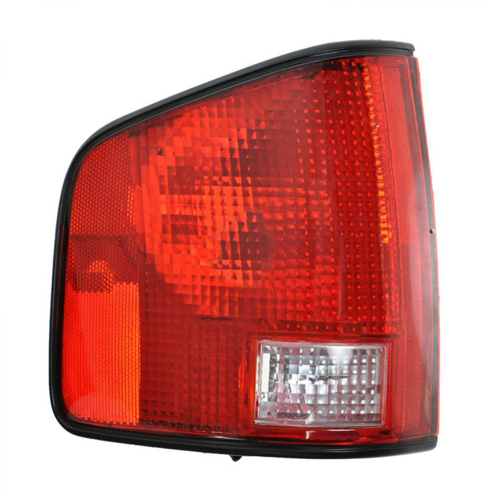 Tail Light Left Driver Side Assembly Fits 1994-2004 Chevrolet S10/GMC Sonoma/1996-2000 Isuzu Hombre