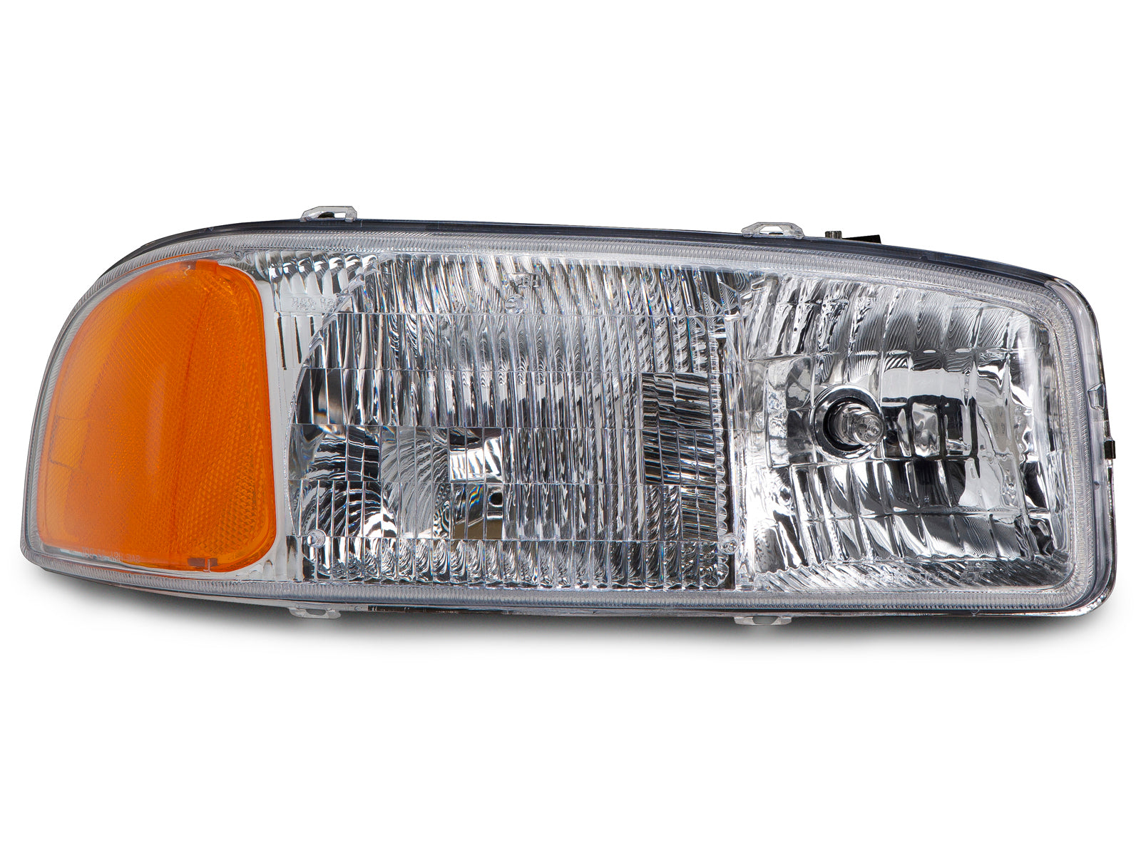 1999-2006 GMC Sierra/2000-2006 Yukon New Passenger Side Headlight (Does Not Fit C3 or Denali)