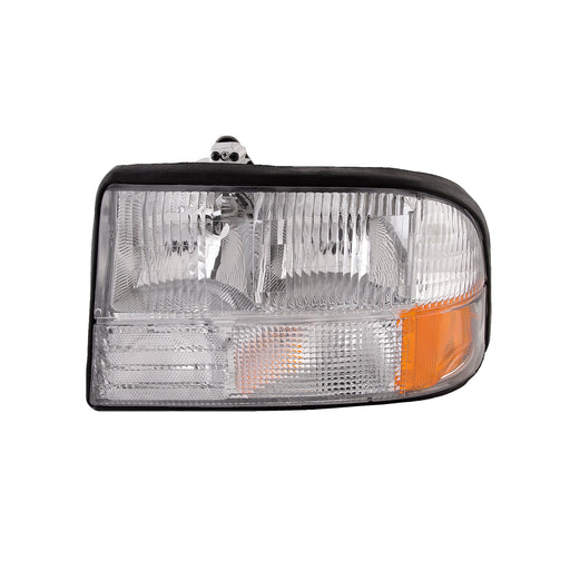 Headlight w/o Fog Light Left Driver Side Assembly Fits 1998-2004 GMC Jimmy/Sonoma/2009-2001 Oldsmobile Bravada