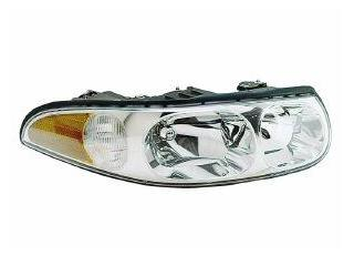 2000 Buick LeSabre Limited Passenger Headlight w/ Smooth Lens and Leveling Feature