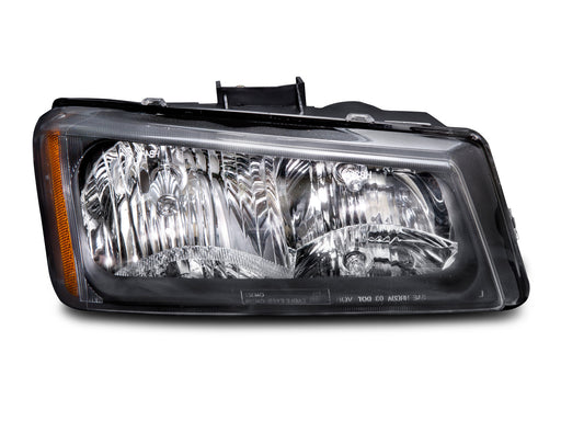 Headlight Halogen Right Passenger Fits 2003-2006 Chevrolet Silverado 1500, 2003 1500 HD, 03-04 Silverado 2500, 03-06 Silverado 2500 HD, 03-06 Silverado 3500