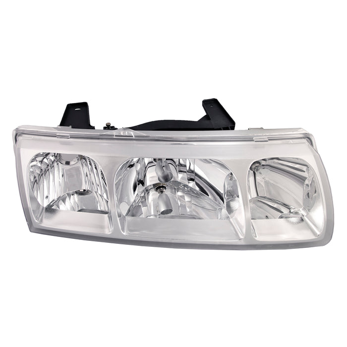 Headlight Non-HID Halogen Passenger Right Sports Utility 4-Door Replacement Assembly Fits 2002-2005 Saturn Vue