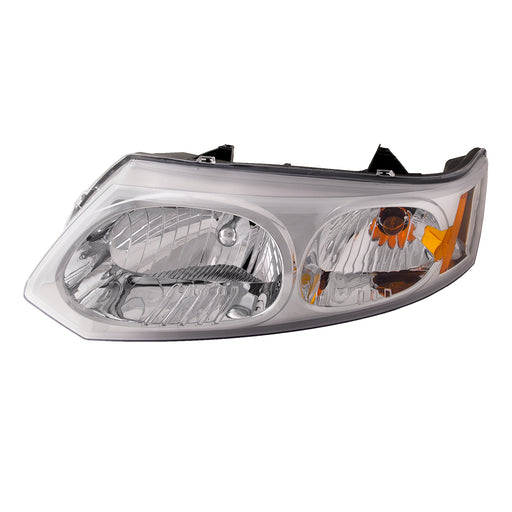 Headlight 4 Door Sedan Left Driver Assembly Fits 2003-2005 Saturn Ion/2003-2007 Saturn Ion-2/Ion-3. Only Fits 4 Door Sedan.