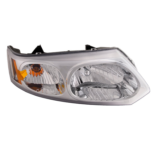 Headlight 4 Door Sedan Right Passenger Assembly Fits 2003-2005 Saturn Ion/2003-2007 Saturn Ion-2/Ion-3. Only Fits 4 Door Sedan.