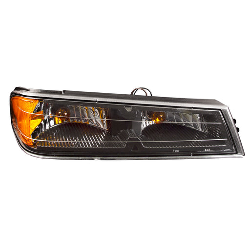 2004-2012 Chevrolet Colorado/GMC Canyon (w/o Extreme) Passenger Right Signal Light Black Housing Assembly