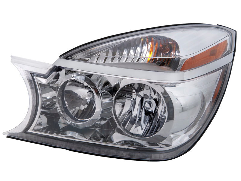 Headlight Halogen Left Hand Driver Assembly Fits 2004-2007 Buick Rendezvous