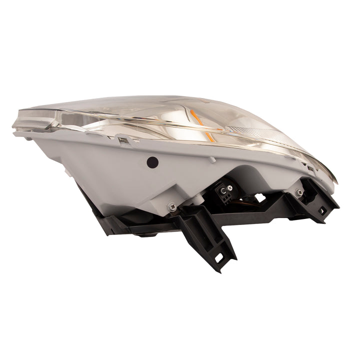 Headlight Smoked Lens w/Bracket w/o Cap Passenger Right Fits 2008-2010 Chevy Cobalt Base LT/LS (05-10 SS Model)