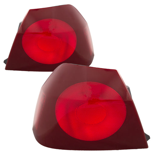Tail Lights Set Driver Left Passenger Right Pair Fits 2000-2004 Chevrolet Impala