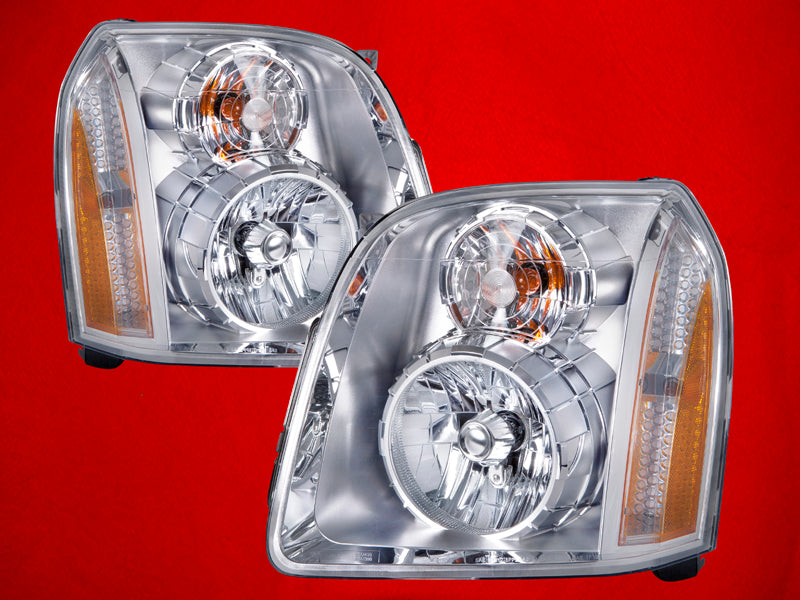 2007-2014 GMC Yukon/Yukon XL Denali Headlights Set