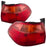 Tail Lights Set Sedan Left Driver Right Passenger Pair Fits 1998-2000 Honda Accord Sedan