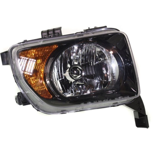 Headlight Right Passenger Side Assembly For 2007-2008 Honda Element EX XL