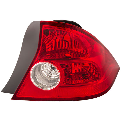 Tail Light Right Passenger 2dr Coupe Quarter Panel Mounted w/o Bulbs or Socket Fits 2004-2005 Honda Civic