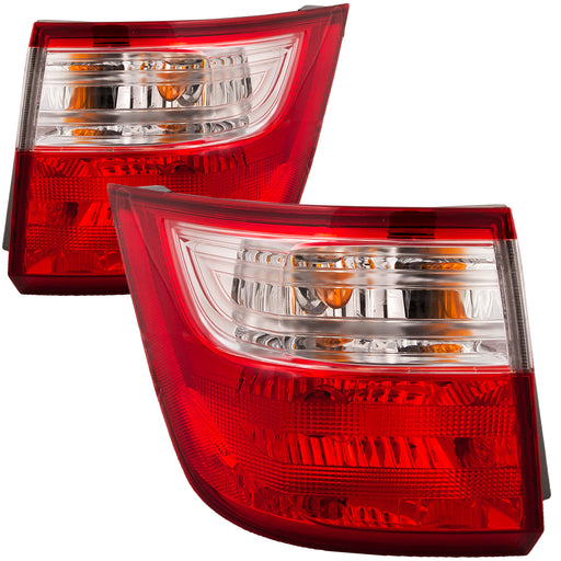 Tail Lights Set Driver Left Right Passenger Pair Assembly Fits 2011-2013 Honda Odyssey