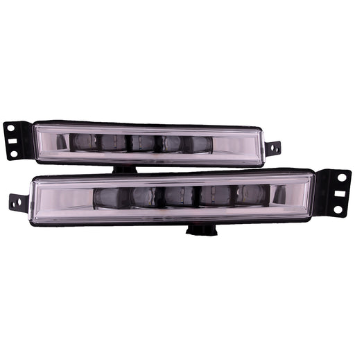 Fog Lights Set Right Passenger Left Driver Pair Fits 2016-2017 Honda Accord Sedan/Coupe