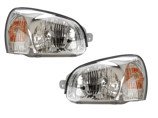 2003 Hyundai Santa Fe Headlights Set
